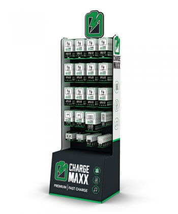 Charge Maxx FloorStand display