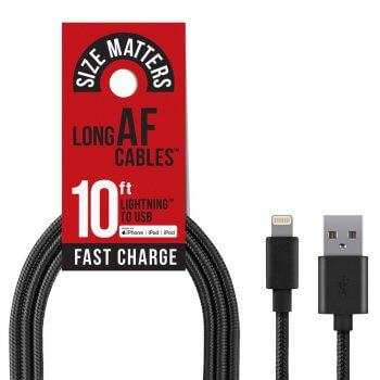 Apple 10ft lightning cable
